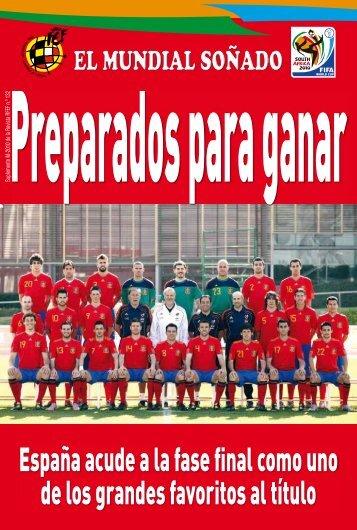 copa del mundo sudafrica 2010 - Real Federación Española de Fútbol