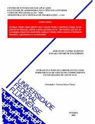 Intranets e portais corporativos como ferramentas ... - Sergio Martins