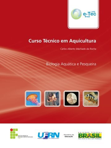 Curso Técnico em Aquicultura - Rede e-Tec Brasil - Ministério da ...
