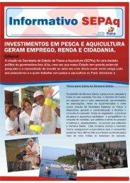 2º Informativo (07/2009) - Baixe a versão eletrônica - SEPAq