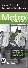Metro Monthly - octubre del 2007