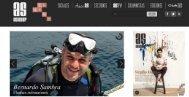 Con la fotografía submarina, Bernardo Sambra encontró una mejor ...