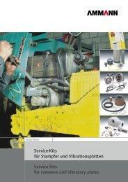 Service-Kits für Stampfer und Vibrationsplatten ... - Ammann Group