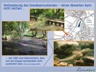 Verbesserung des Gewässerzustandes – reines ... - Ruhrverband