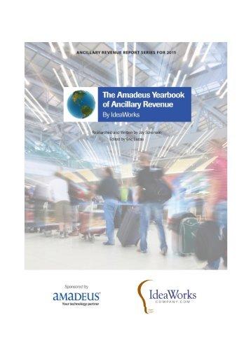 2010 Amadeus Yearbook of Ancillary Revenue
