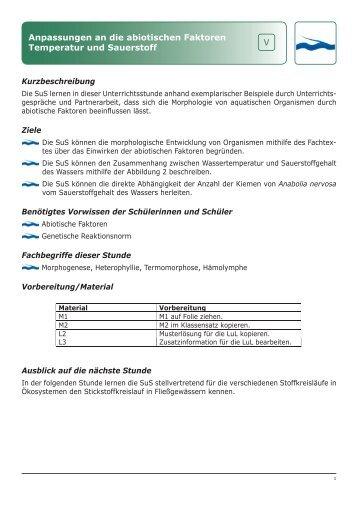 Erfreut Abiotische Vs Biotische Faktoren Arbeitsblatt Antworten ...