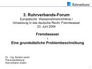 3. Ruhrverbands-Forum