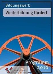 Bildungswerk - Kursprogramm 2010 - Ruhrwerkstatt, Kultur-Arbeit im ...