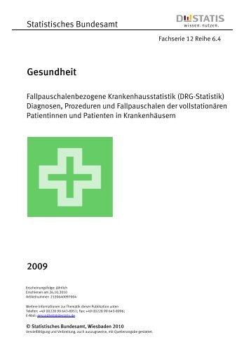 Fallpauschalenbezogene Krankenhausstatistik ... - RULLKO
