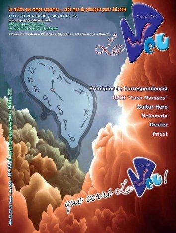 La revista que rompe esquemas..., cada mes als - Quecorrilaveu.net