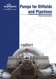 Pumps for Oilfields - Ruhrpumpen