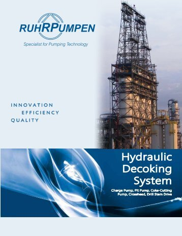 Specialist For Pumping Technology - Ruhrpumpen