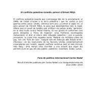 El conflicte palestino-israelià, polvorí d'Orient ... - e-Repositori UPF