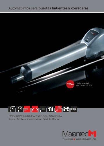 Automatismos para puertas batientes y correderas Download (PDF