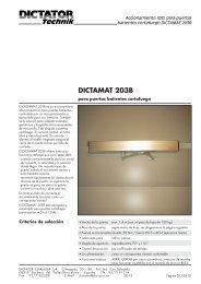 DICTAMAT 203B - Dictator