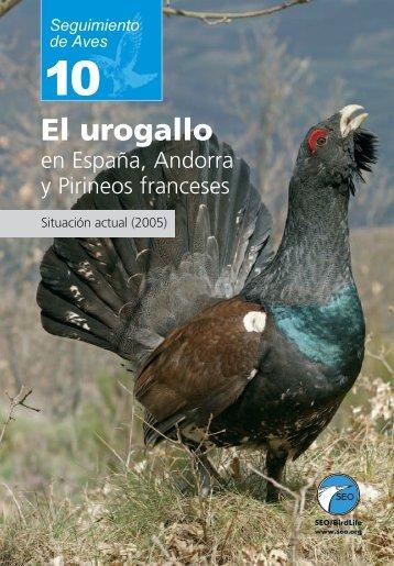 El urogallo en España, Andorra y Pirineos franceses. - SEO/BirdLife
