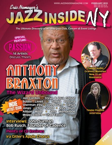 February 2010 issue - Jazz Singers.com