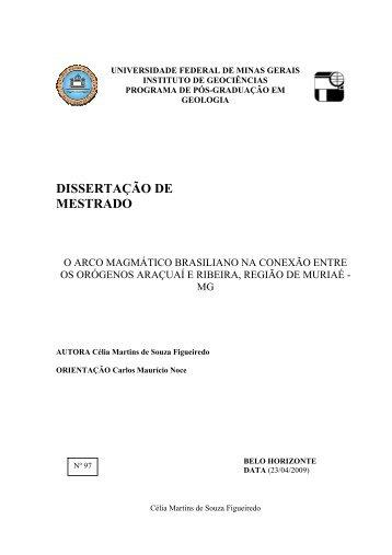 Pb - Biblioteca Digital de Teses e Dissertações da UFMG