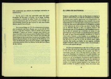 El libro de bautismos. - cdigital