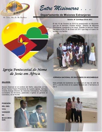 boletin 214.pdf - Iglesia Pentecostal Unida de Colombia