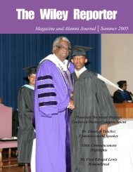 Fall Reporter 03 - Wiley College