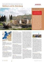 Baltikum und St. Petersburg - AMOS Reisen