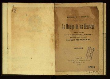 La Huelga de los Herreros. Traduccion Escrita ... - cdigital