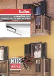 Radius - Ditec