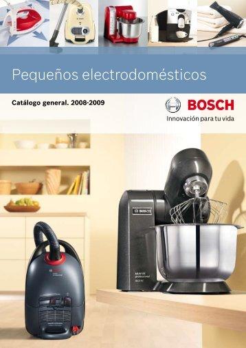 Pequeños electrodomésticos - Bosch