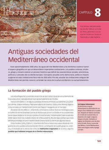 Antiguas sociedades del Mediterráneo occidental - Dirección ...