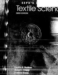 Seph's Textile Science - Sixth Edition - P2 InfoHouse