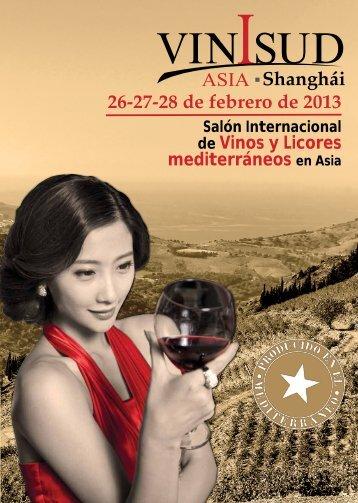 Shanghái 26-27-28 de febrero de 2013 - Vinisud Asia