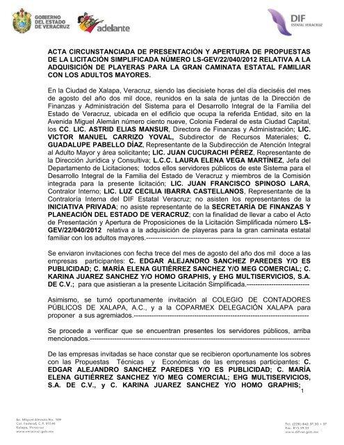 acta circunstanciada de presentación y apertura de propuestas de ... 6a9d416b9ec7a