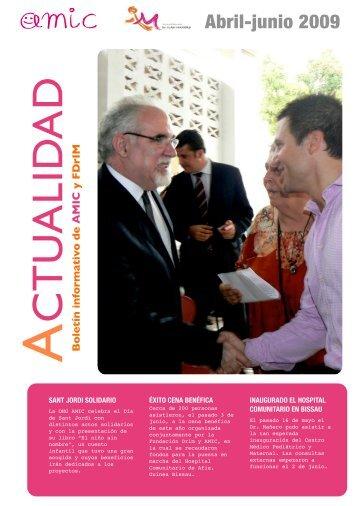 Boletín informativo AMIC y FDrIM - Abril - junio 2009