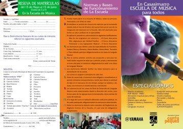 ESPECIALIDADES - Casasimarro.net