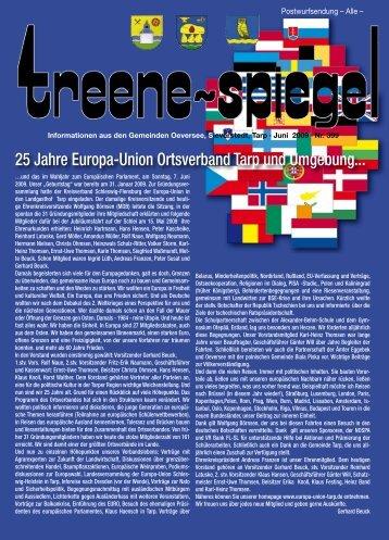 25 Jahre Europa-Union Ortsverband Tarp und ... - Treenespiegel