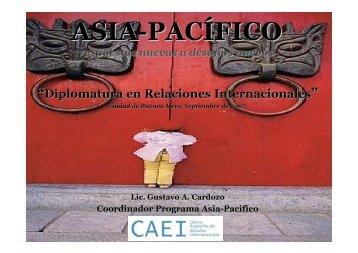 Asia Pacifico Respuesta nuevas a desafios nuevos