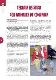 TERAPIA ASISTIDA CON ANIMALES DE COMPAÑÍA - Colegio de ...