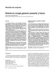 Robots en cirugía general: presente y futuro (Archivo