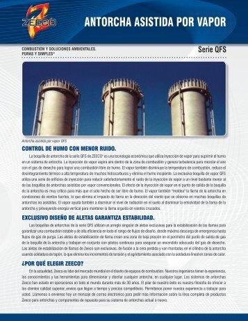 ANTORCHA ASISTIDA POR VAPOR - Zeeco