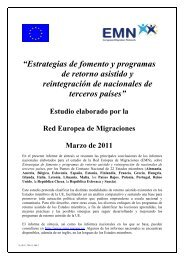 """""""Estrategias de fomento y programas de retorno asistido y ..."""