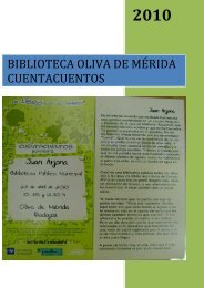 biblioteca oliva de mérida cuentacuentos - Un libro es un amigo