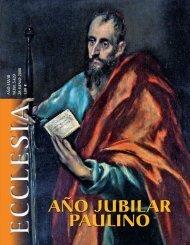 AÑO JUBILAR PAULINO
