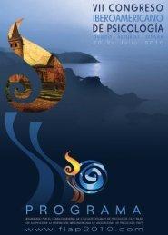 prOgrama - VII Congreso Iberoamericano de Psicología