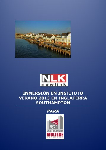 SOUTHAMPTON INMERSION INSTITUTOS ... - Apemoliere.org