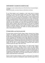 Oportunidades para la empresa española en el Sudeste - Casa Asia