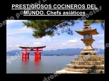 Chefs asiáticos