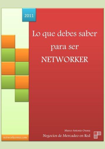 Manual Del Networker - Vida Multinivel
