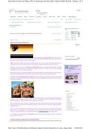 Página 1 de 3 Encuentro de Osos en Sitges 2012, la fiesta gay más ...