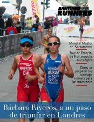 Bárbara Riveros, a un paso de triunfar en Londres - Santiago Runners